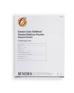 Conners EC Teacher/Caregiver Response Booklet (Pack of 25)