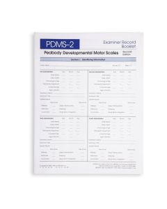 PDMS-2 Examiner Record Booklet (Pack of 25)