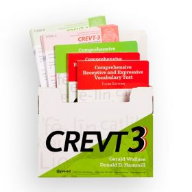 (CREVT-3) Comprehensive Receptive and Expressive Vocabulary Test, Third Edition
