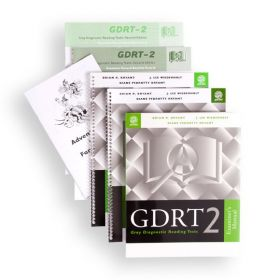 (GDRT-2) Gray Diagnostic Reading Tests, Second Edition
