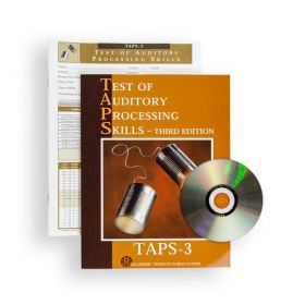 (TAPS-3) Test of Auditory Processing Skills, Third Edition