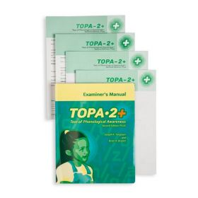(TOPA-2+) Test of Phonological Awareness, Second Edition Plus