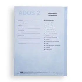 ADOS-2 Protocol Booklet Module 3 (Pack of 10)