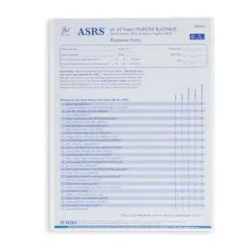 ASRS Parent Software Form, Ages 6-18 (Pack of 25)