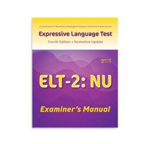 (ELT-2:NU)Expressive Language Test-Second Edition:Normative Update