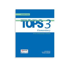 (TOPS-3:E) Test of Problem Solving-3:Elementary