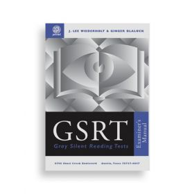 (GSRT) Gray Silent Reading Test