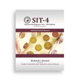 (SIT-4) Slosson Intelligence Test-4th Edition