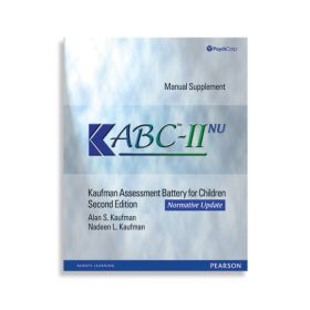 (KABC-II NU) Kaufman Assessment Battery for Children, Second Edition Normative Update