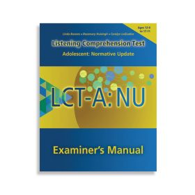(LCT-A: NU) Listening Comprehension Test-Adolescent: Normative Update