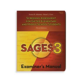 (SAGES-3) Screening Assessment for Gifted Elementary and Middle School Students-Third Edition