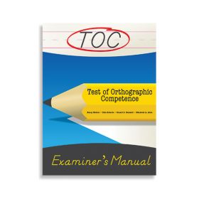 (TOC) Test of Orthographic Competence