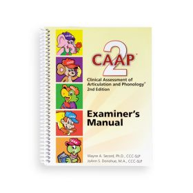 (CAAP-2) Clinical Assessment of Articulation and Phonology, Second Edition