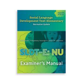 (SLDT-E: NU) Social Language Development Test–Elementary: Normative Update