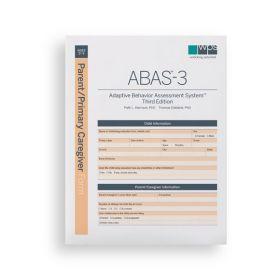 ABAS-3 Parent/Primary Caregiver Form (Pack of 25)