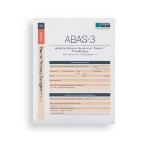 ABAS-3 Spanish Parent/Primary Caregiver Form (Pack of 25)