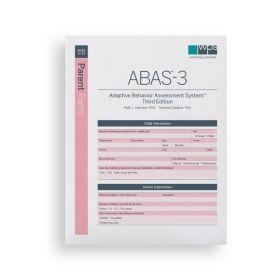 ABAS-3 Parent Form (Pack of 25)