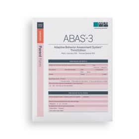 ABAS-3 Spanish Parent Form (Pack of 25)