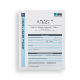 ABAS-3 Teacher/Daycare Provider Form (Pack of 25)