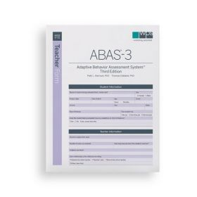 ABAS-3 Teacher Form (Pack of 25)