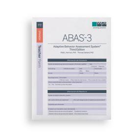 ABAS-3 Spanish Teacher Form (Pack of 25)