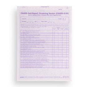 CAARS Self-Report Screening Version (Pack of 25)