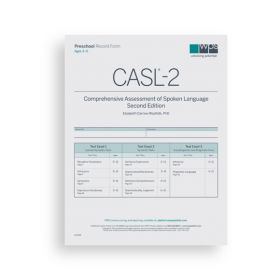 CASL-2 Preschool Form (Pack of 10)