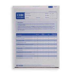 CDI 2 Teacher Form (Pack of 25)
