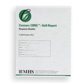 Conners CBRS Self-Report Response Booklet (Pack of 25)