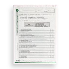 Conners CBRS Clinical Index, Self-Report Form (Pack of 25)