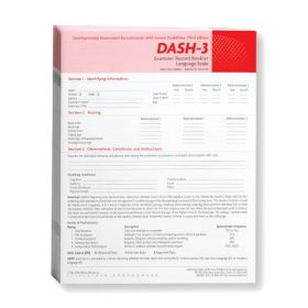 DASH-3 Language Scale (Pack of 10)