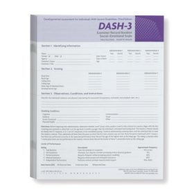 DASH-3 Social-Emotional Scale (Pack of 10)