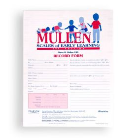 Mullen Scales of Early Learning Record Form (Pack of 25)