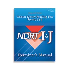 NDRT Forms I & J–Examiner's Manual