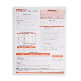 PBRS Parent Score Summary/Profile Form (Pad of 25)