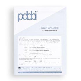 PDDBI Parent Rating Form (Pack of 25)