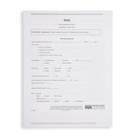 PDSS Test Form In Spanish (Pack of 10)