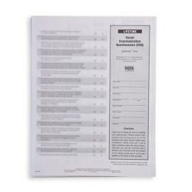 SCQ Lifetime AutoScore™ Form (Pack of 20)