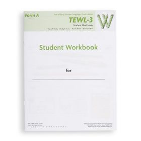 TEWL-3 Form A  Student Workbook (Pack of 10)