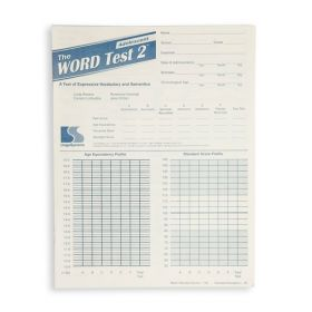 The WORD Test 2 Adolescent Test Form (Pack of 20)