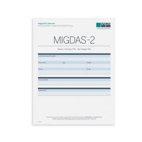 MIGDAS-2 Diagnostic Interview for Individuals with Limited to No Verbal Fluency Form (Pack of 5)
