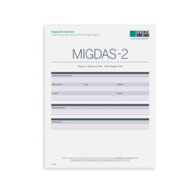 MIGDAS-2 Diagnostic Interview for Children and Adolescents with Verbal Fluency Form (Pack of 5)