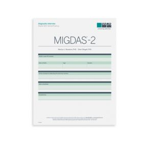 MIGDAS-2 Diagnostic Interview for Adults with Verbal Fluency Form (Pack of 5)