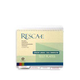 RESCA-E Expressive Language and Social Communication Test Plates