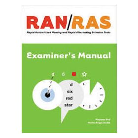 (RAN/RAS) Rapid Automatized Naming and Rapid Alternating Stimulus Tests