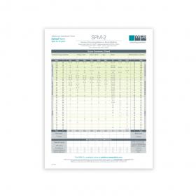SPM-2 Adolescent School Print Form (Pack of 25)