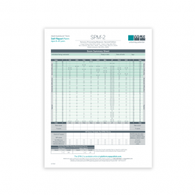 SPM-2 Adult Self-Report Print Form (Pack of 25)