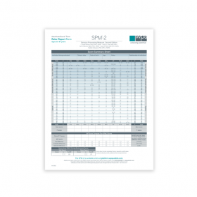 SPM-2 Adult Rater Report Print Form (Pack of 25)